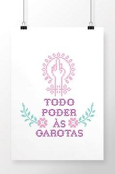 Poster Todo Poder às Garotas