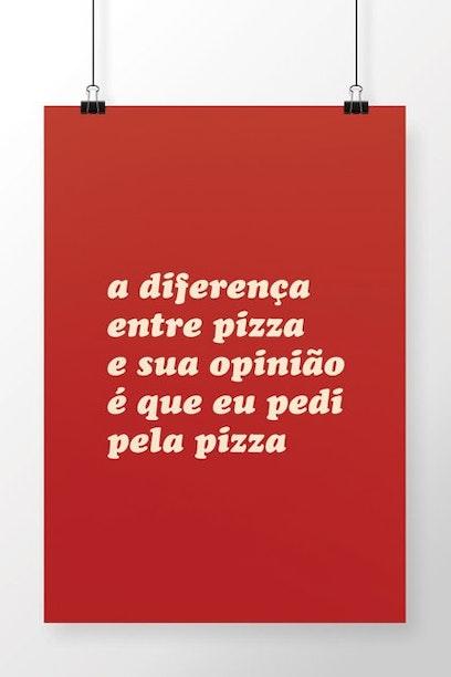 Poster Opinião