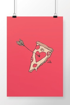Poster Pizza Lover