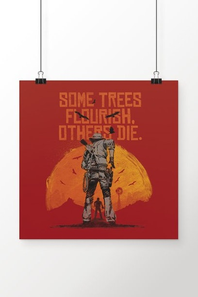 Poster Red Dead