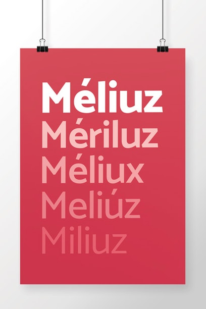 Poster Méliuz Nomes