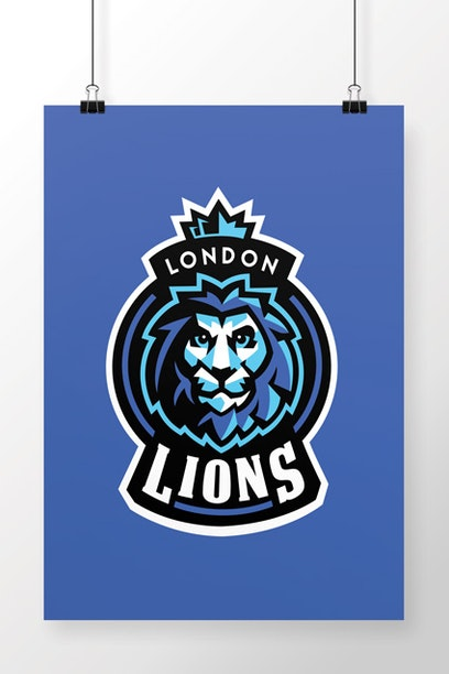 Poster London Lions