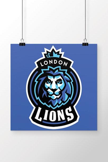 Poster London Lions