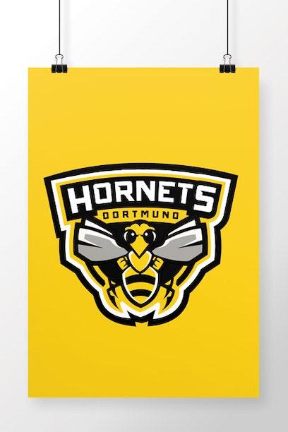 Poster Dortmund Hornets