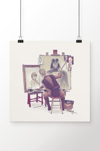 Poster Anakin's Portraits