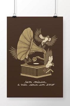 Poster Musicólatra