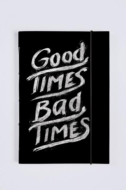 Oferta Sketchbook Good Times Bad Times por R$ 58.9