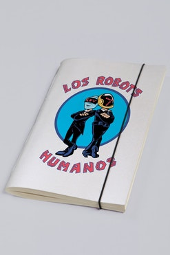 Sketchbook Los Robots Humanos R$58,90 | 4x de R$14,72