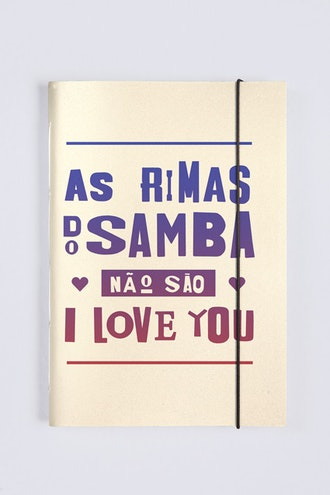 Sketchbook Rimas Do Samba