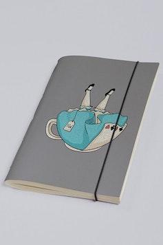 Estampa Sketchbook Alice
