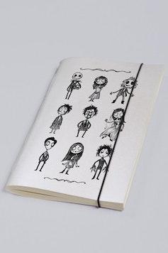 Estampa Sketchbook O Estranho Mundo de Tim