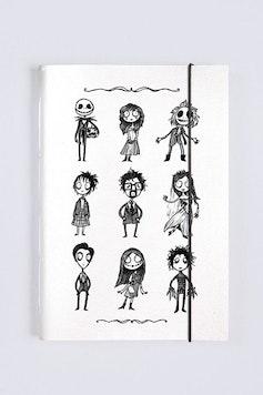 Sketchbook O Estranho Mundo de Tim