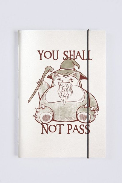 Sketchbook You Shall Not Pass