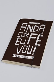 Estampa Sketchbook Andá Cum Fé