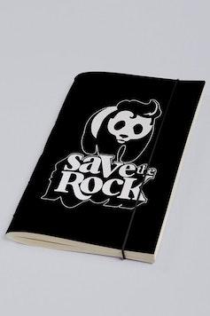 Estampa Sketchbook Save The Rock