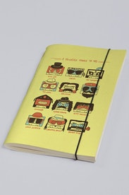 Estampa Sketchbook A Fantástica Fábrica da MPB