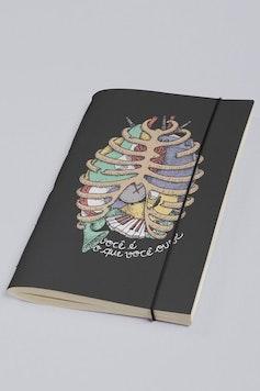 Estampa Sketchbook Anatomia Sonora