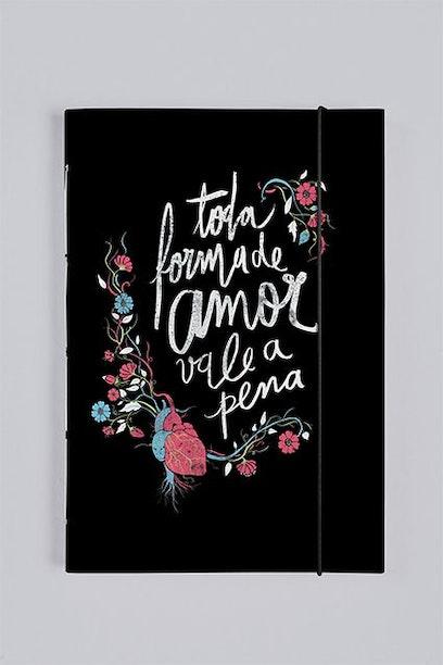 Sketchbook Toda Forma de Amor