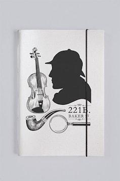 Sketchbook Sherlock Holmes