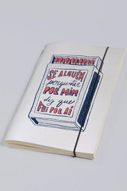 Estampa Sketchbook Por Aí