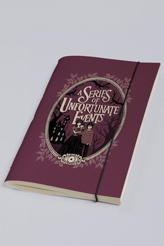 Estampa Sketchbook Desventuras em Série