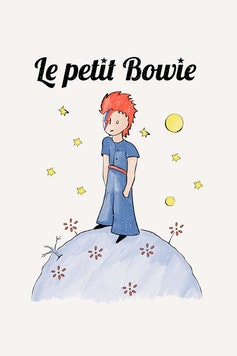 Estampa Sketchbook Le Petit Bowie
