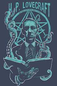 Estampa Sketchbook Lovecraft