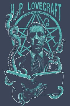 Estampa Sketchbook Lovecraft