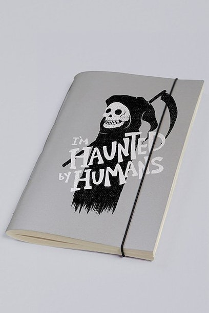 Sketchbook Haunted By Humans