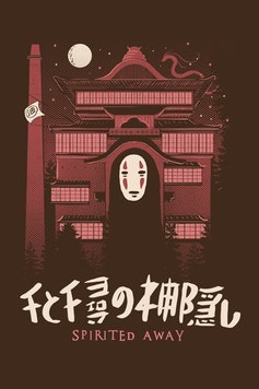 Estampa Sketchbook Spirited Away