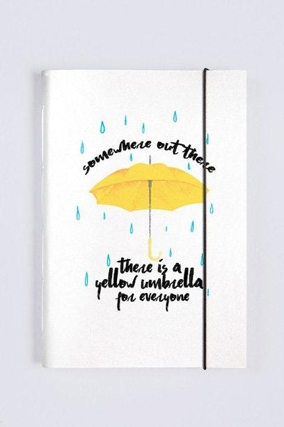 Sketchbook Yellow Umbrella