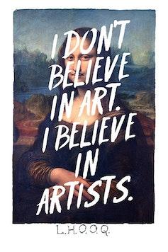 Estampa Sketchbook Duchamp