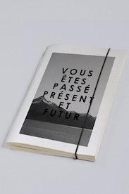 Estampa Sketchbook Passé, Présent, Futur