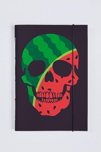 Sketchbook Watermelon Skull