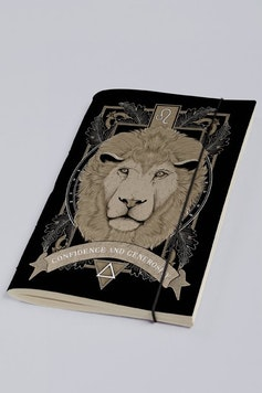 Estampa Sketchbook Leo