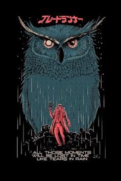 Estampa Sketchbook Blade Runner