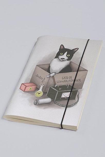 Sketchbook Gato de Schwarzadinger