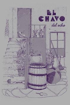 Estampa Sketchbook El Chavo