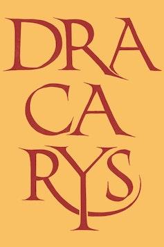 Estampa Sketchbook Dracarys