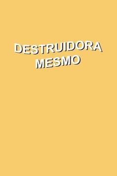 Estampa Sketchbook Destruidora
