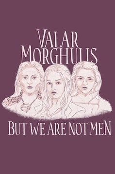 Estampa Sketchbook Valar Morghulis