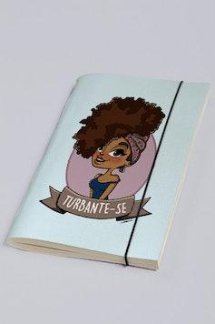 Estampa Sketchbook Turbante-se