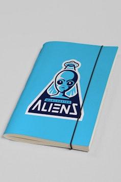Estampa Sketchbook Manchester Aliens