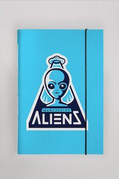 Sketchbook Manchester Aliens