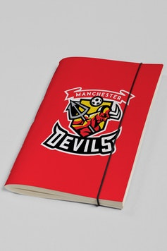 Estampa Sketchbook Manchester Devils