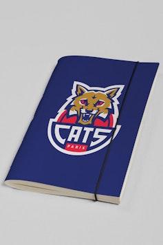 Estampa Sketchbook Paris Cats