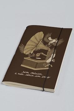 Estampa Sketchbook Musicólatra