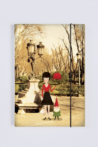 Sketchbook Amélie no Parque
